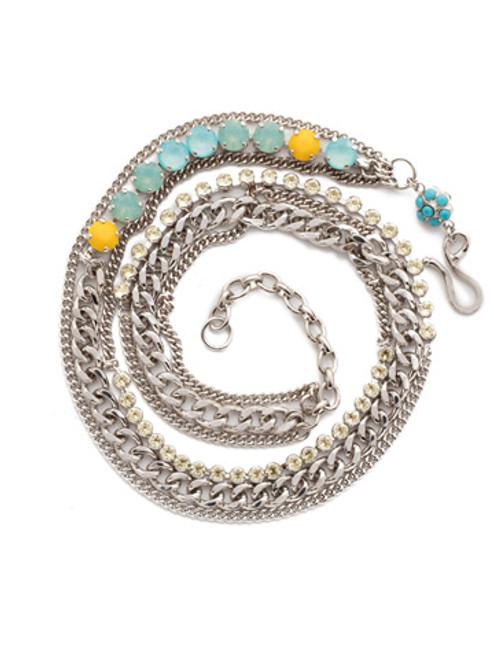 Sorrelli Tahitian Treat Mixed Metal & Crystal Wrap Bracelet BDD7RHTHT