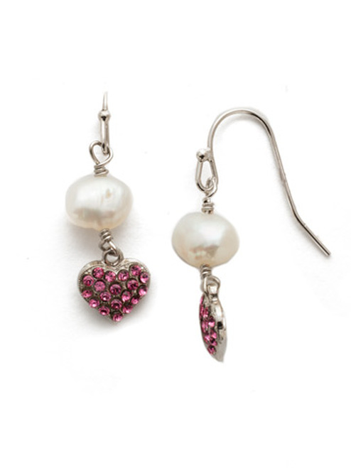 Sorrelli Apple Blossom Crystal  Earrings~EEM6RHAB