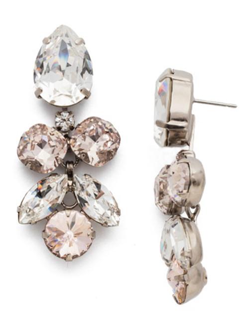 Sorrelli Soft Petal Crystal Earrings