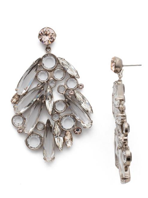 Sorrelli Soft Petal Crystal Earrings ECN27ASPLS