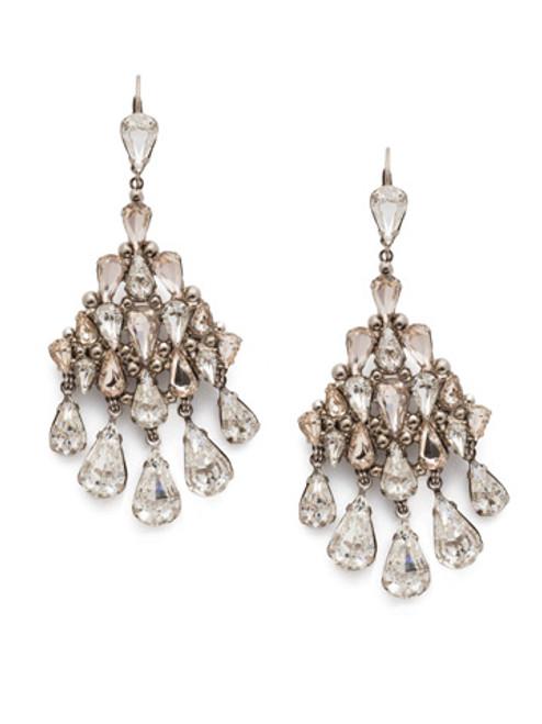 Sorrelli Soft Petal Crystal Earrings ECK46ASPLS