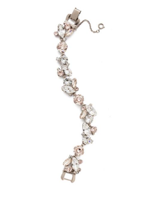Sorrelli Soft Petal- Radiant Vine Tennis Bracelet~ BDN51ASPLS