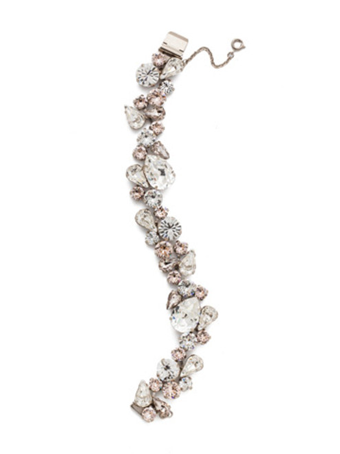 Sorrelli Soft Petal Crystal Bracelet