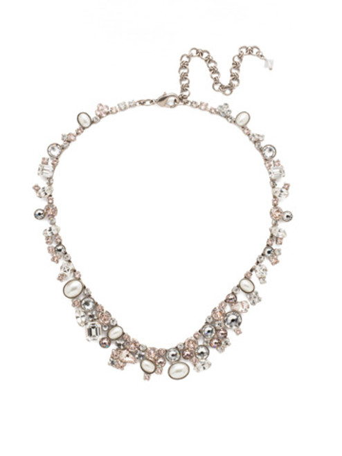 Sorrelli Soft Petal Crystal Necklace NAX8ASPLS