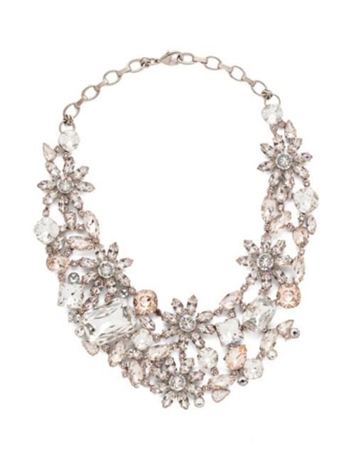 Sorrelli Soft Petal Crystal Necklace nbt56aspls