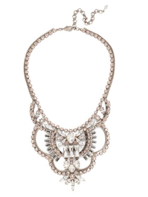 Sorrelli Soft Petal Crystal Necklace NCY16ASPLS