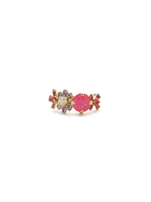 Sorrelli Island Sun- Stellar Crystal Band Ring~ REK8BGISS