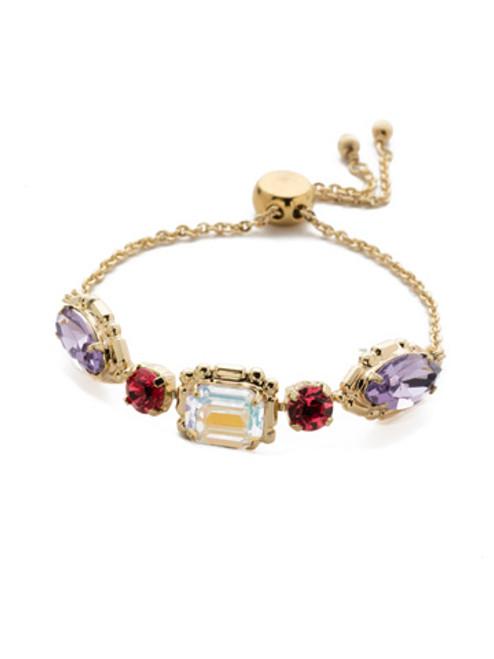 Sorrelli Island Sun Tosca Crystal Slider Bracelet~ BEA31BGISS