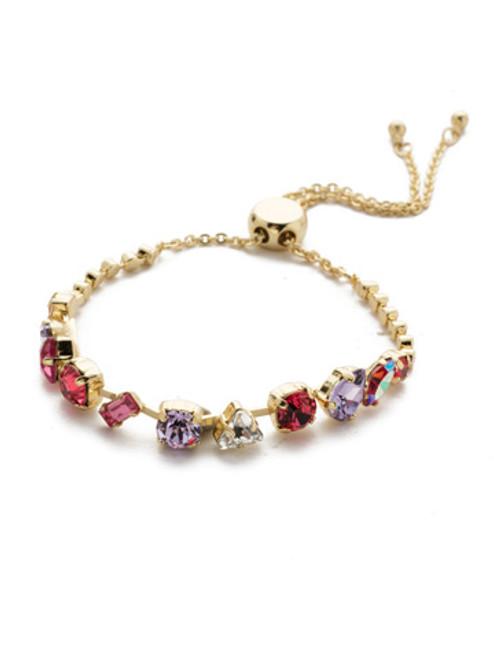 Sorrelli Island Sun- Cherished Crystal Slider Bracelet~ BEK19BGISS