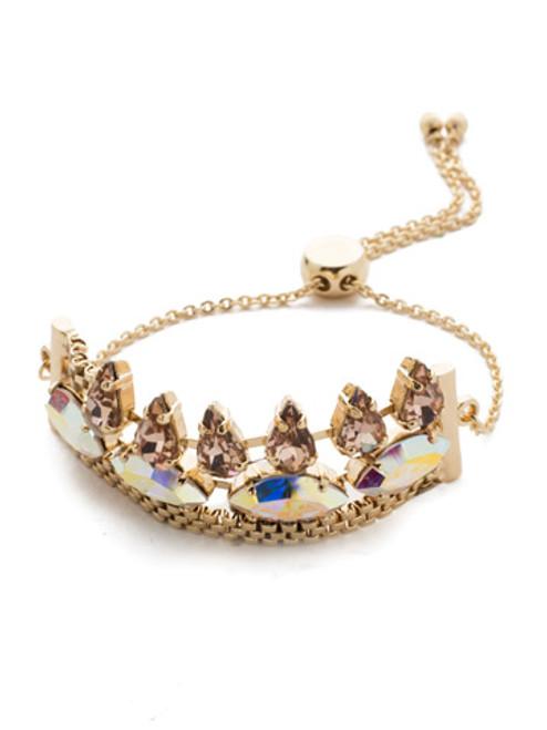 Sorrelli Island Sun Arya Slider Crystal Bracelet~ BEF6BGISS