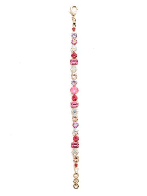 Sorrelli Island Sun- Sedge Crystal Tennis Bracelet~ BDX1BGISS