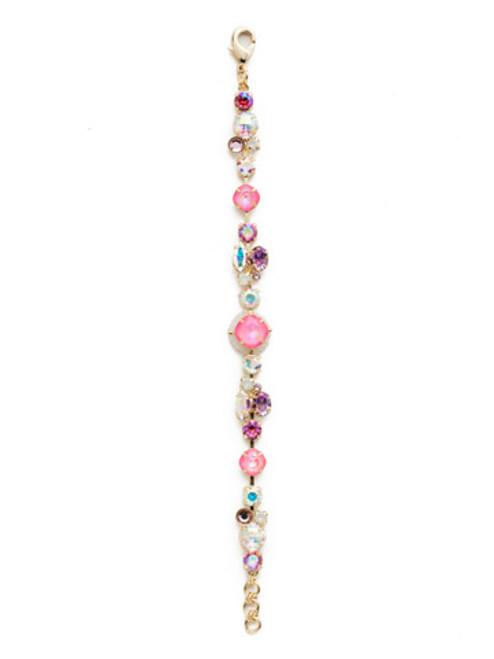 Sorrelli Island Sun Crystal Bracelet- BEK40BGISS