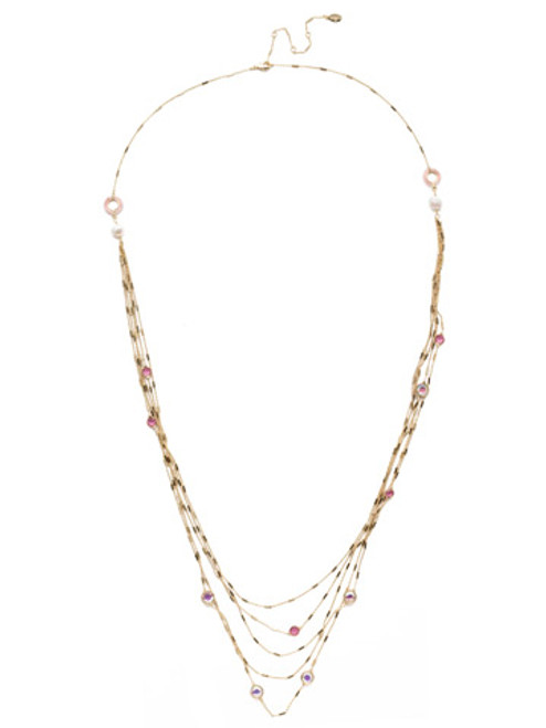 Sorrelli Island Sun Crystal Necklace -NEK2BGISS