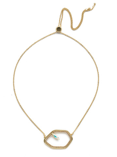 Sorrelli Island Sun Crystal Necklace