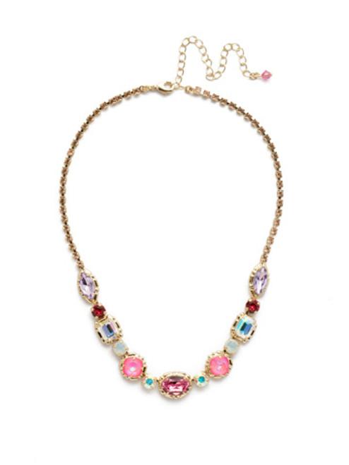 Sorrelli Island Sun Crystal Necklace -NDX7BGISS