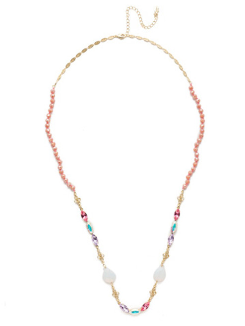 Sorrelli Island Sun Crystal Necklace -NEK13BGISS