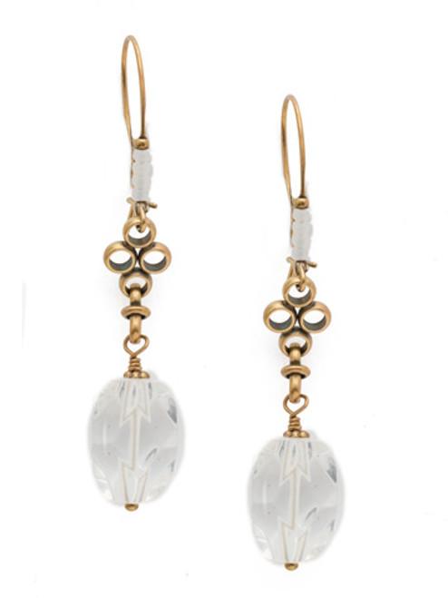 Rocky Beach Crystal Earrings