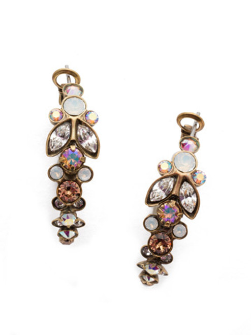 Sorrelli Rocky Beach Crystal Earrings EEA6AGROB