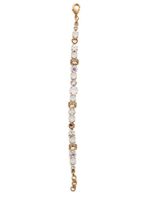Sorrelli Rocky Beach Crystal Bracelet BDX1AGROB