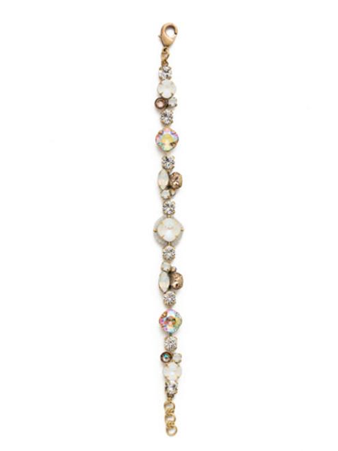 Sorrelli Rocky Beach Crystal Bracelet BEK40AGROB