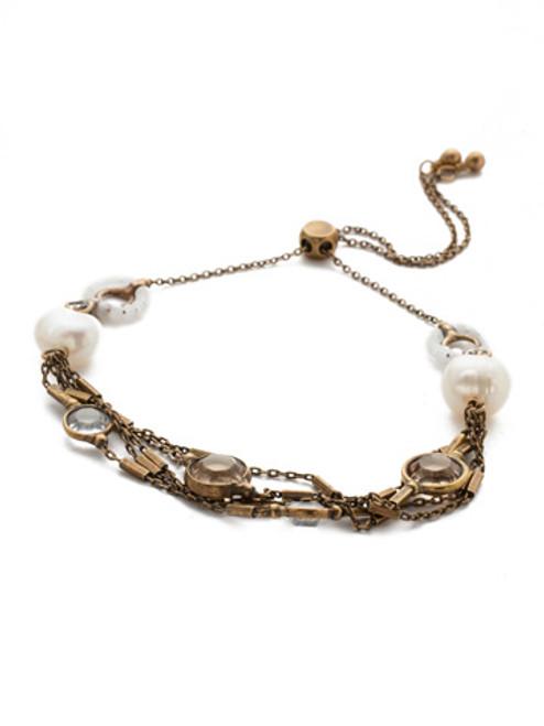 Sorrelli Rocky Beach- Luminous Crystal Slider Bracelet~ BEK2AGROB