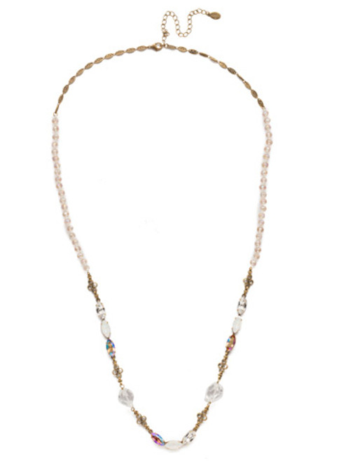 Sorrelli Rocky Beach Crystal Necklace nek13agrob