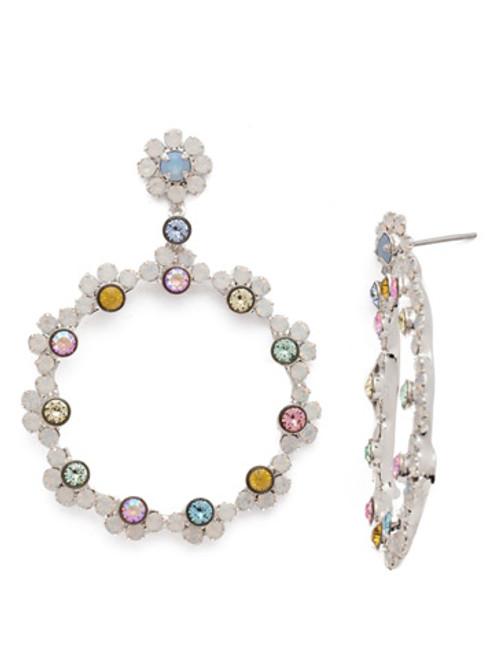 Sorrelli Seersucker Crystal Earring EBP50RHSSU