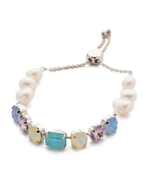 Sorrelli Seersucker Crystal Bracelet