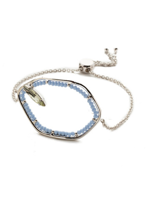Seersucker Crystal Bracelet
