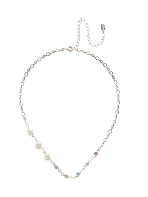 Sorrelli Seersucker Crystal Necklace~NEK27RHSSU