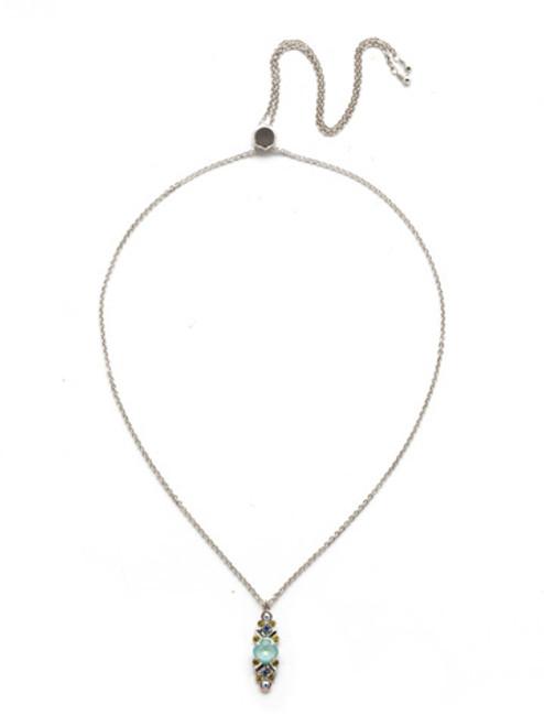 Sorrelli Seersucker Crystal Necklace~NEK28RHSSU