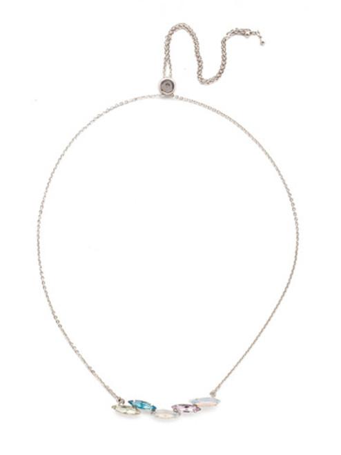 Sorrelli Seersucker Crystal Necklace~NEF44RHSSU