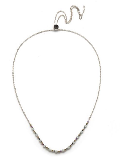 Sorrelli Seersucker Crystal Necklace~NEK14RHSSU