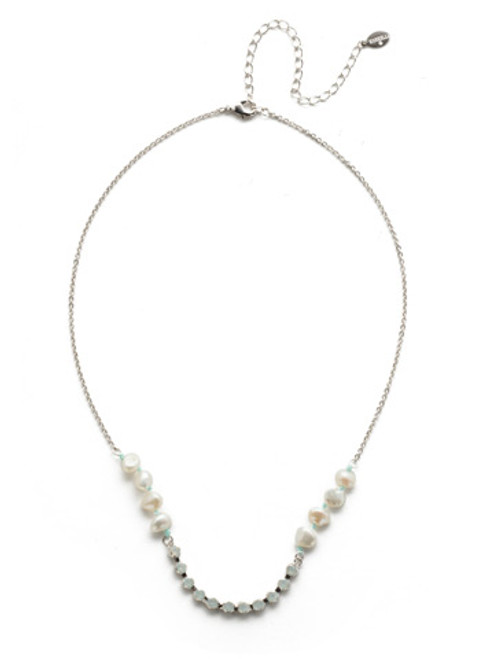 Sorrelli Seersucker Crystal Necklace~NEK5RHSSU