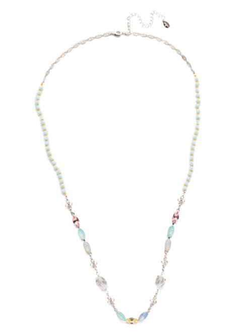 Sorrelli Seersucker Crystal Necklace NEK13RHSSU