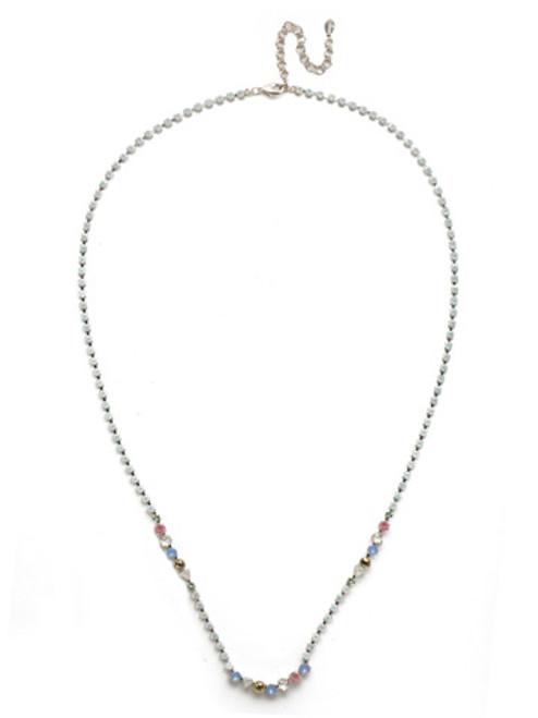 Sorrelli Seersucker Crystal Necklace NEK24RHSSU