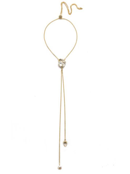 Sorrelli Modern Pearl- Zola Statement Necklace~ NEL44BGMDP