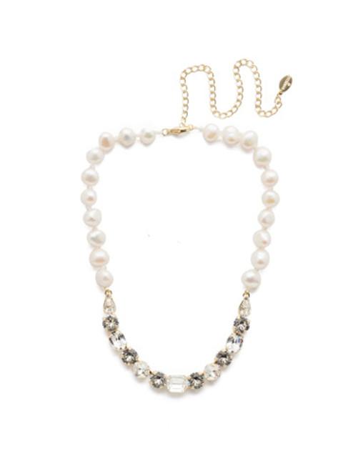 Sorrelli Crystal- Cadenza Tennis Necklace~ NEC14BGCRY