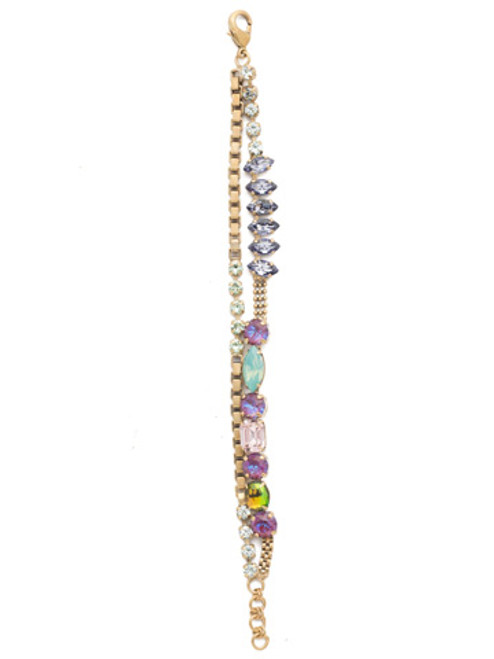 Sorrelli Iris Bloom Annabelle Layered Bracelet BEN9AGIRB