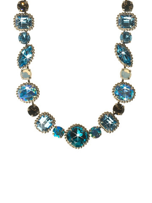 EMERALD COAST CRYSTAL NECKLACE BY Sorrelli NCP37ASECO