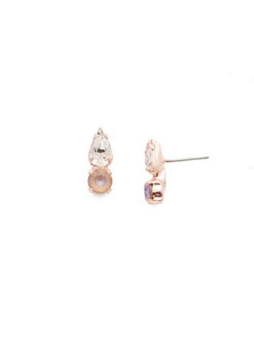 Sorrelli Rose Garden Julia Stud Earrings~EEN32RGROG