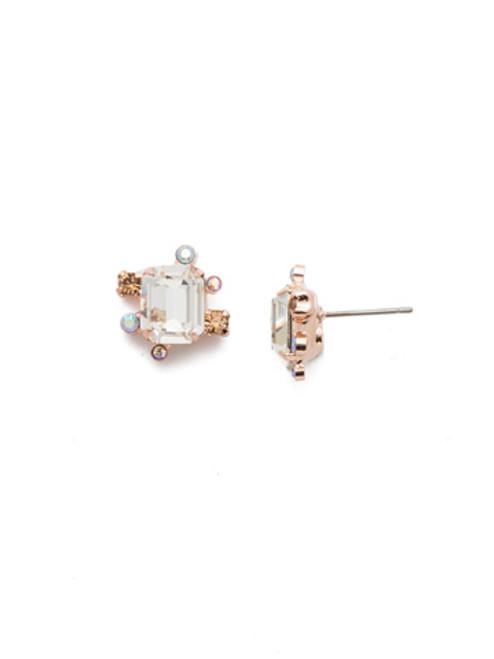 Sorrelli Rose Garden Tara Stud Earrings~EEN30RGROG