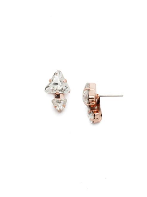 Sorrelli Rose Garden Emma Stud Earrings~EEN12RGROG