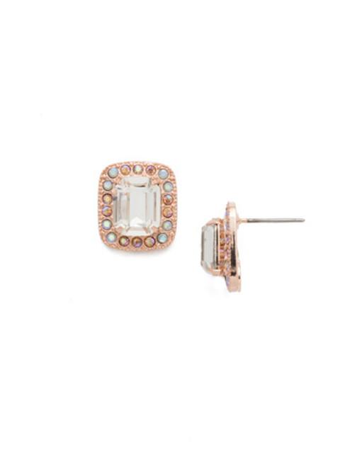 Sorrelli Rose Garden Lovely Luxury Earrings~ECL10RGROG