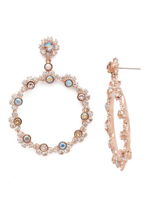 Sorrelli Rose Garden Cirque Earrings EBP50RGROG