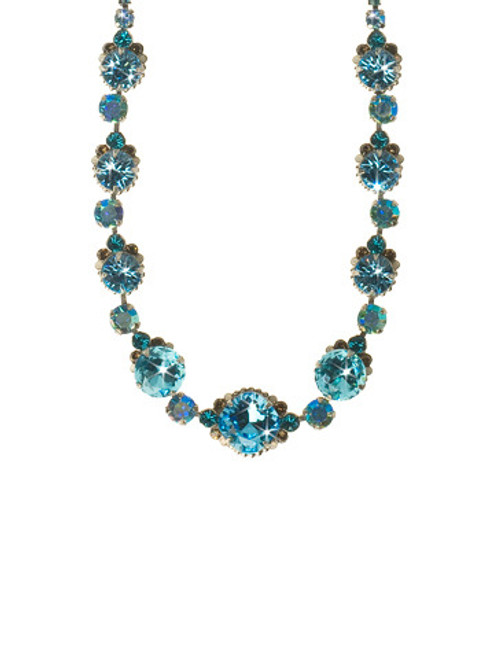 EMERALD COAST CRYSTAL NECKLACE BY Sorrelli NCG3ASECO