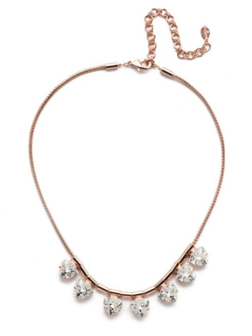 Sorrelli Rose Garden Stella Line Necklace NEB14RGROG