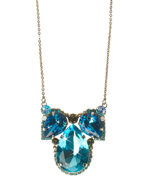 EMERALD COAST CRYSTAL NECKLACE BY Sorrelli NCQ11ASECO