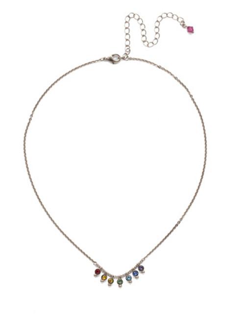Sorrelli Delicate Dots Necklace ndn115aspri