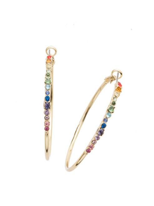 Sorrelli Hoopla Earrings Bright Gold EDN79BGPRI